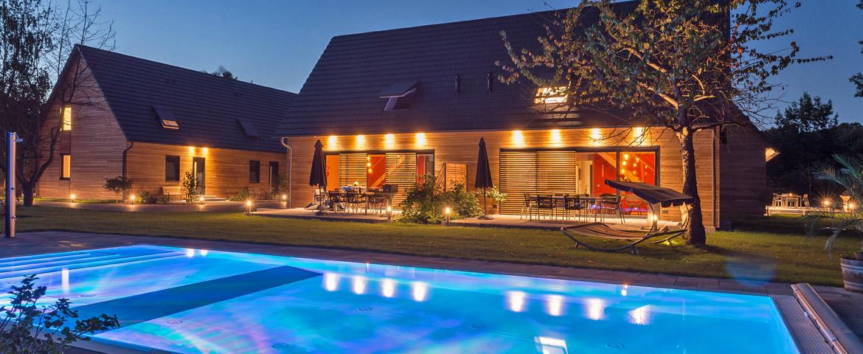 Ferienhaus Spreewald Kauperhof Pool
